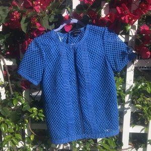 HP!!!!🎉🎉🎉 Gorgeous blue blouse